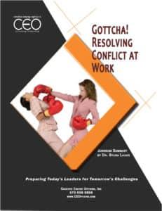 GottchaResolvingConflictatWork-231x300